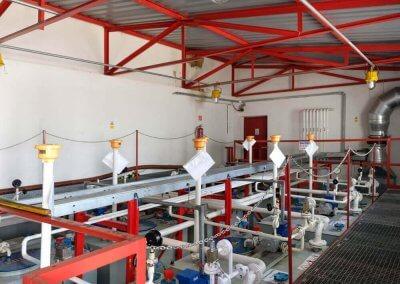 Aditivačné nádrže slúžiace na výrobu aditivovaných pohonných hmôt PROGRESS-TRADING a.s. Trebišov