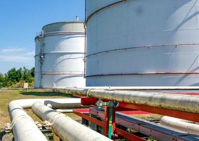 Skladovacie nádrže pohonných hmôt s príslušenstvom PROGRESS-TRADING a.s. Trebišov 10