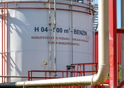 Skladovacie nádrže pohonných hmôt s príslušenstvom PROGRESS-TRADING a.s. Trebišov 12