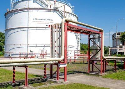 Skladovacie nádrže pohonných hmôt s príslušenstvom PROGRESS-TRADING a.s. Trebišov 13