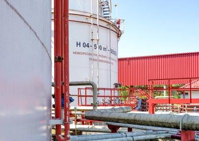 Skladovacie nádrže pohonných hmôt s príslušenstvom PROGRESS-TRADING a.s. Trebišov 14