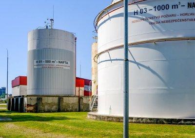 Skladovacie nádrže pohonných hmôt s príslušenstvom PROGRESS-TRADING a.s. Trebišov 15