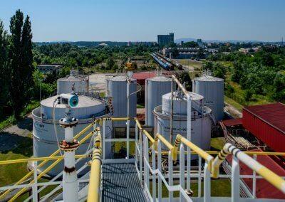 Skladovacie nádrže pohonných hmôt s príslušenstvom PROGRESS-TRADING a.s. Trebišov 2