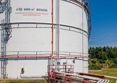 Skladovacie nádrže pohonných hmôt s príslušenstvom PROGRESS-TRADING a.s. Trebišov 6