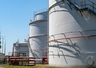 Skladovacie nádrže pohonných hmôt s príslušenstvom PROGRESS-TRADING a.s. Trebišov 9